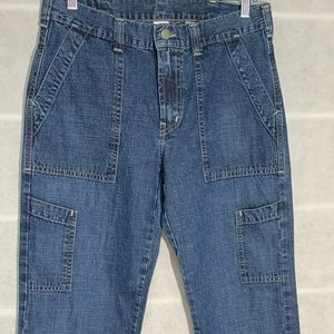 Lucky Brand Dungarees, size 10/30L